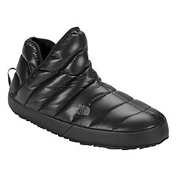 The North Face ThermoBall Traction Bootie, Shiny Black-Dark Shadow Grey, 256
