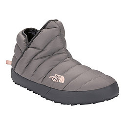 The North Face ThermoBall Traction Bootie Women's, Shiny Frost Grey-Iron Grey, 256