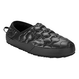 The North Face ThermoBall Traction Mule IV, Shiny Black-Dark Shadow Grey, 256