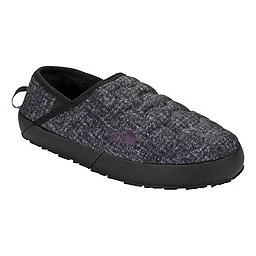 The North Face ThermoBall Trction Mule IV Women's, Houndstooth Print-Black Plum, 256