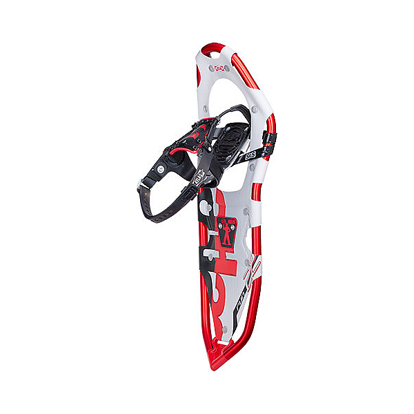 Atlas Run Snowshoes, Red-Silver, 600