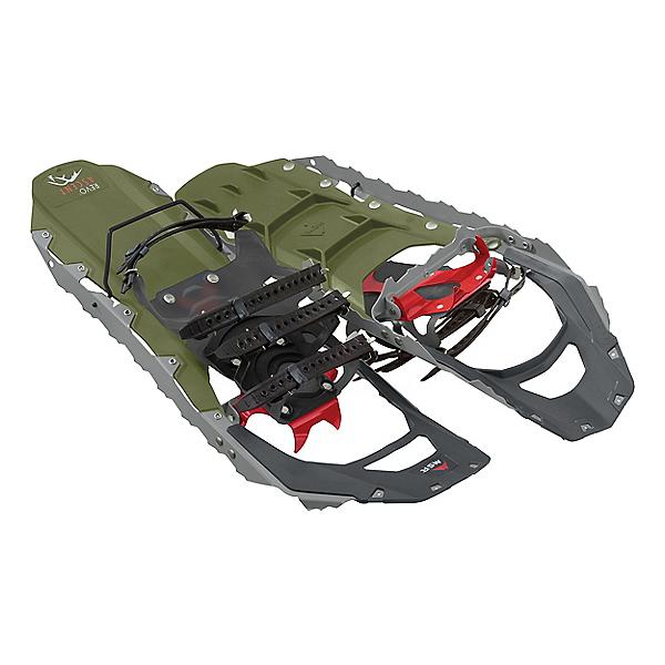 MSR Revo Ascent Snowshoes, Olive, 600