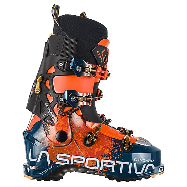 La Sportiva Synchro Ski Boot - 28/Ocean Lava, Ocean Lava, 600