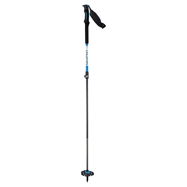 Salomon MTN CARBON S3 Ski Poles, Blue, 600