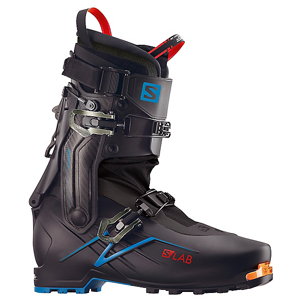 Salomon S-Lab X-Alp Ski Boot - 26.5/Black-Carbon-Transcend Blue, Black-Carbon-Transcend Blue, 600
