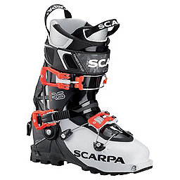 Scarpa Gea RS Ski Boot Women's, White-Black-Flame, 256