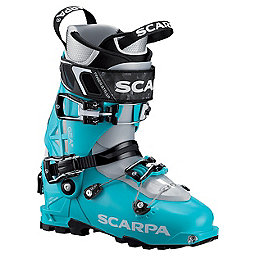Scarpa Gea Ski Boot Women's, Scuba Blue, 256