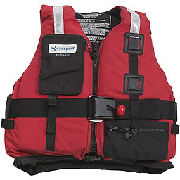 Extrasport Fury PFD, Red-Black, 256