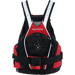 Extrasport Pro Creeker PFD, Red-Black, 256
