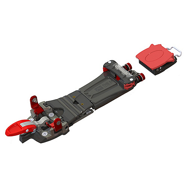 THE M Equipment Meidjo 2.1 Telemark Binding, Red-Black, 600