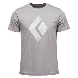 Black Diamond SS Chalked Up Tee - Men's, Nickel, 256
