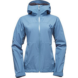 Black Diamond StormLine Stretch Rain Shell - Women's, Blue Steel, 256