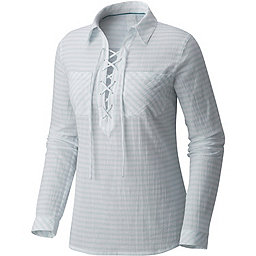 Mountain Hardwear Berryessa Long Sleeve Popover - Women's, River Mist, 256