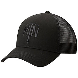 Mountain Hardwear Climb On Trucker Hat, Black MTN, 256