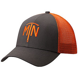 Mountain Hardwear Climb On Trucker Hat, Shark MTN, 256