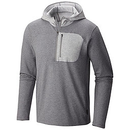 Mountain Hardwear Cragger Pullover Hoody - Men's, Heather Titanium, 256