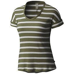 Mountain Hardwear Lookout Short Sleeve T - Women's, Surplus Green, 256