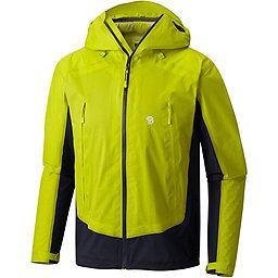 Mountain Hardwear Quasar Lite II Jacket - Men's, Fresh Bud-Dark Zinc, 256