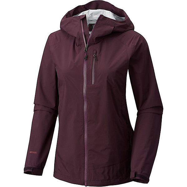 Mountain Hardwear ThunderShadow Jacket - Women's - MD/Dark Tannin, Dark Tannin, 600