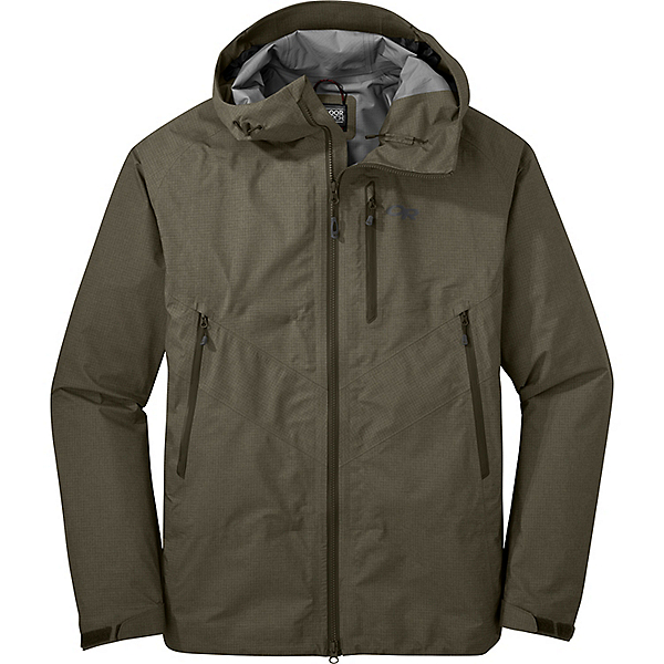 Outdoor Research Optimizer Jacket - Men's - SM/Fatigue, Fatigue, 600