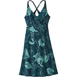 Patagonia Amber Dawn Dress - Women's, Valley Flora: Tidal Teal, 256