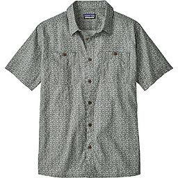 Patagonia Back Step Shirt - Men's, Batik Hex Micro: Hex Grey, 256