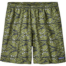 Patagonia Baggies Longs 7 in - Men's, Hexy Fish: Sprouted Green, 256