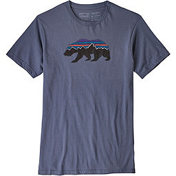 Patagonia Fitz Roy Bear Organic T-Shirt - Men's, Dolomite Blue, 256