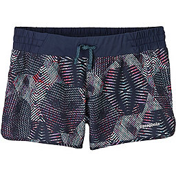 Patagonia Nine Trails Shorts - Women's, Tech Hex: Navy Blue, 256