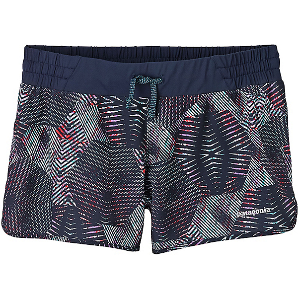 Patagonia Nine Trails Shorts - Women's - MD/Tech Hex: Navy Blue, Tech Hex: Navy Blue, 600