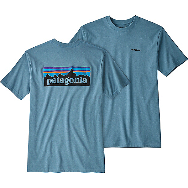 Patagonia P-6 Logo Responsibili-Tee - Men's - MD/Mako Blue, Mako Blue, 600