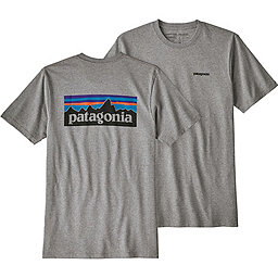 Patagonia P-6 Logo Responsibili-Tee - Men's, Gravel Heather, 256