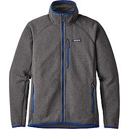 Patagonia Performance Better Sweater Jacket - Men's, Forge Grey w-Viking Blue, 256