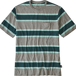 Patagonia Squeaky Clean Pocket Tee - Men's, Rugby: Feather Grey, 256