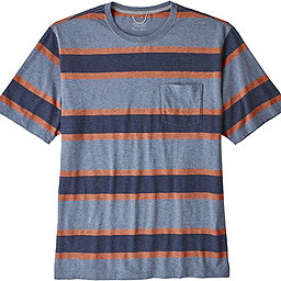 Patagonia Squeaky Clean Pocket Tee - Men's, Rugby: Dolomite Blue, 256