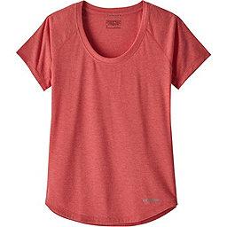 Patagonia S/S Nine Trails Shirt - Women's, Maraschino, 256