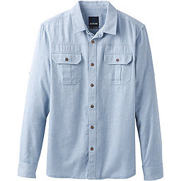 prAna Cardston LS - Men's, Island Blue, 256
