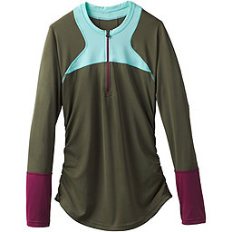 prAna Martine Sun Top - Women's, Cargo Green Color Block, 256