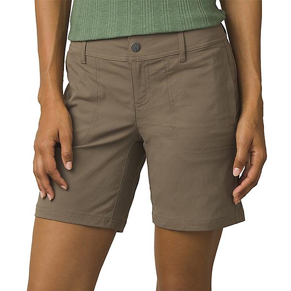 """prAna Ravenna Short 7"""" Inseam - Women's - 2/Mud, Mud, 600"""