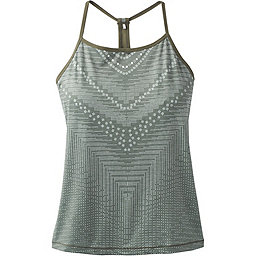 prAna Small Miracle Cami - Women's, Forest Green Synergy, 256