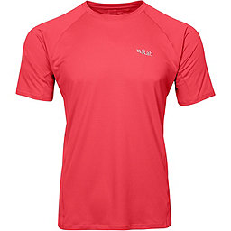 Rab Force Short Sleeve Tee - Men's, Cayenne, 256