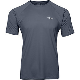 Rab Force Short Sleeve Tee - Men's, Steel, 256