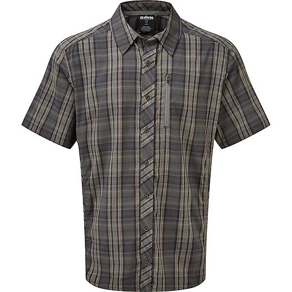 Sherpa Gokyo Short Sleeve Shirt - Men's - LG/Monsoon Grey, Monsoon Grey, 600