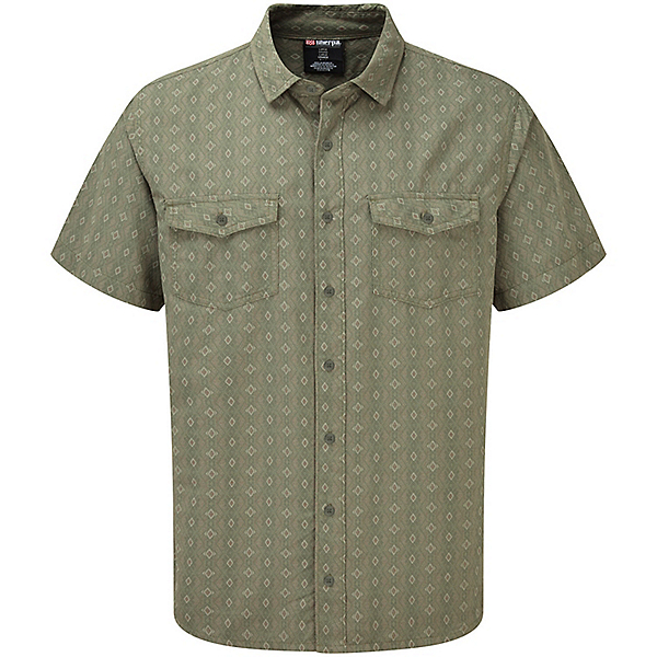 Sherpa Surya Short Sleeve Shirt - Men's, Koshi Green, 600
