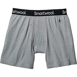 Smartwool Merino 150 Pattern Boxer Brief - Men's, Light Gray, 256