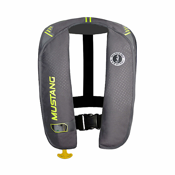 Mustang Survival M.I.T 100 Manual Inflate PFD, Gray/Yellow, 600