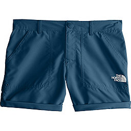 The North Face Amphibious Short - Girl's, Blue Wing Teal, 256