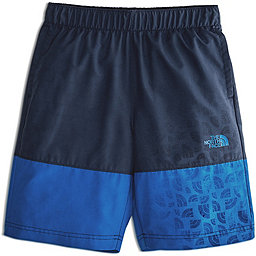 The North Face Class V Water Short - Boy's, Turkish Sea Logo Phantom Print, 256