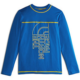 The North Face Long Sleeve Amphibious Tee - Boy's, Turkish Sea, 256