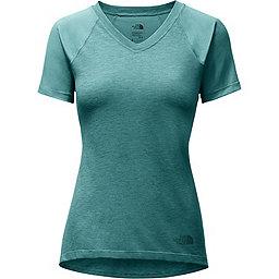 The North Face Reactor V-Neck Short Sleeve - Women's, Bristol Blue, 256